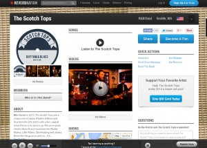 We've got a Reverb Nation page finally!
